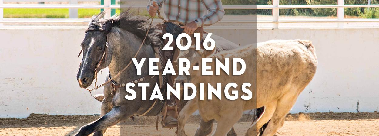 2016 Year-End Standings