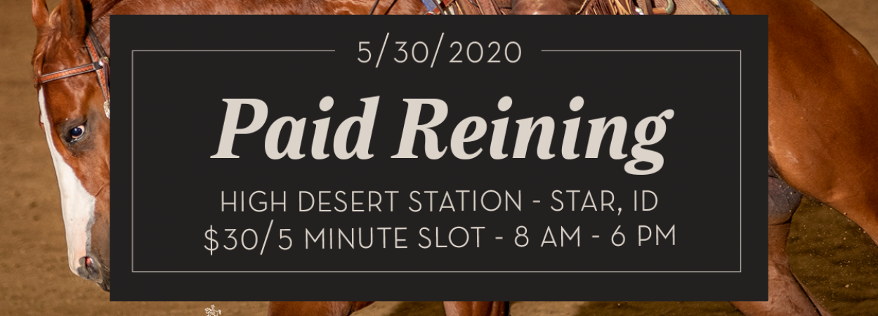 May Paid Reining