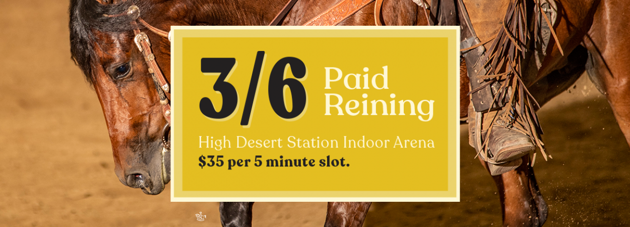 March Paid Reining